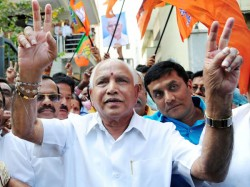 Karnataka Results Bs Yeddyurappa Swearing In As Cm Tight Security Deployed