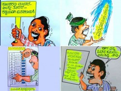Election Cartoons Awareness About Importance Of Casting Vote