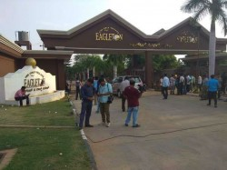 Police Security Given To Eagleton Resort Was Taken Back