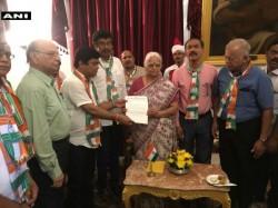 Congress Meets Goa Governor To Stake Claim To Form Government