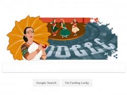 Google Doodle Celebrates Legendary Dancer Mrinalini Sarabhai
