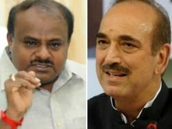 Cabinet Expansion Hd Kumaraswamy Met Ghulam Nabi Azad