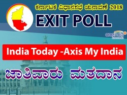 Karnataka Assembly Elections 2018 India Today Axis My India Caste Wise Voting
