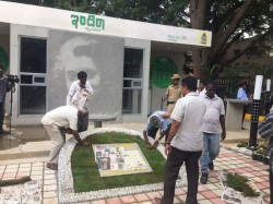 Stone Pelting On Indira Canteen In Chandra Layout