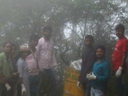 Swachchhata Abhiyan Forest Young Poets Of Mudigere