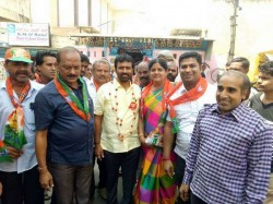 Bjp Candidate Nagendra From Chamaraja Assembly Constituency Interview