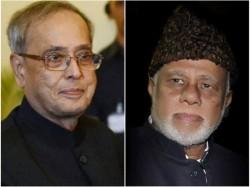 Jaffer Sharief Shocks Over Pranab Mukherjees Decision