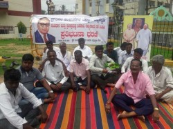 Dalit Leaders In Chandanapattana Launched A New Protest