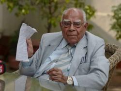 Ram Jethmalani Mentioned Before Cji Bench Against Karnataka Governor