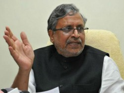 Opposition Scared Of Pm Says Sushil Modi