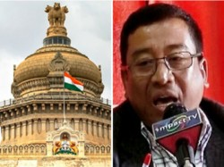In Manipur Bjp Took Support A Bjp Mla And Gave Him Ministry