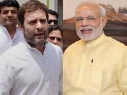 Bjps 4 Yr Govt Pm Modi Fails In Rahuls Report Card