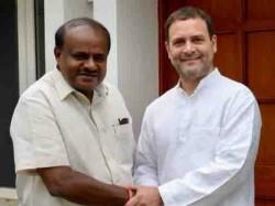 Kumaraswamy Took Permission From Rahul Gandhi To Present Budget