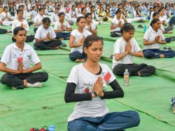 Pictures Of The Day International Yoga Day Preparation Around India