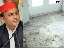 Akhilesh Removes Acs And Tiles While Vacating Govt Bungalow