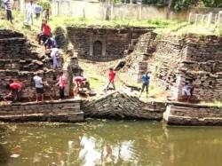 Historic Bahadur Khan Well Was Cleansed By The Yuva Brigade Team