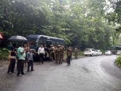 Again Landslide In Charmadi Ghat Road