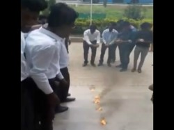 College Students Did Funny Ritual On Last Day Of Their College
