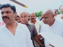 Deve Gowda Says Kumaraswamy Will Present The State Budget On July