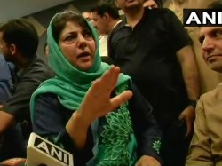 We Are Not Looking To Explore Any Other Alliance Mehbooba Mufti