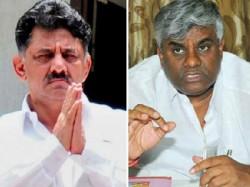 Dk Shivakumar Blames Hd Revanna For Interefering In His Department