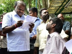 Parents Complaint In Janata Darshan Kumaraswamy Suspends Ddpi
