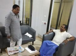 Deputy Chief Minister Dr G Parameshwar Met Siddaramaiah