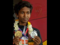 Hubballi Policemans Daughter Bags Gold Medal In Nepal