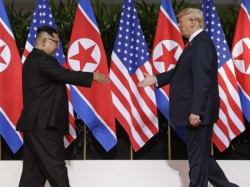 North Korean Media Hails Kim Trump Meeting