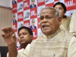 Tejashwi Yadav Will Be Our Cm Face For 2020 Bihar Elections Jitan Ram Manjhi