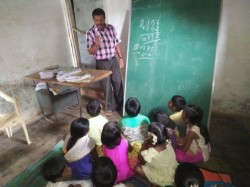 No Basic Privilege Of Government Junior Primary School In Periyapatna