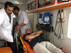 Delhi Deputy Cm Sisodia Being Taken To Lngp Hospital