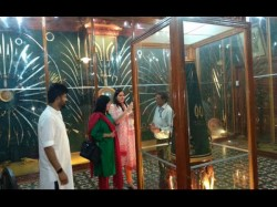Central Minister Sushma Swarajs Daughter Visited Mysuru Palace