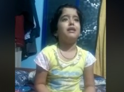Viral Video Small Child Fed Up Of Pressure In Her School