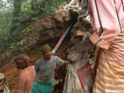 Again Land Slide In Agumbe Ghat Thirthahalli