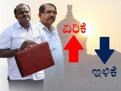 Karnataka Budget 2018 19 Hdk Budget What Is Cheaper What Is Costlier