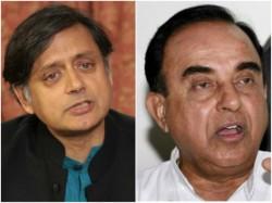 Shashi Tharoor Should Go To Pakistan Subramanian Swamy