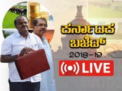 Karnataka State Budget 2018 Live Updates And Highlights