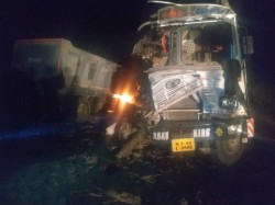 Two Drivers Died On The Spot In A Lorry Accident