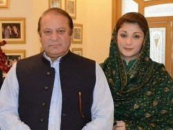 Pakistan Former Pm Nawaz Sharif His Daughter Maryam Arrested In Lahore Airport