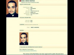 Red Corner Notice Issues Against Nirav Modi By Interpol