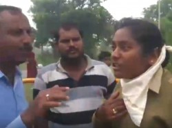 Jds Mlas Followers Misbehave With Lady Police Constable