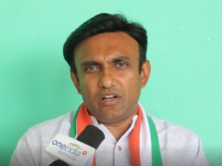 Cong Mla Sudhakar Objects Cm Should Be Courageous