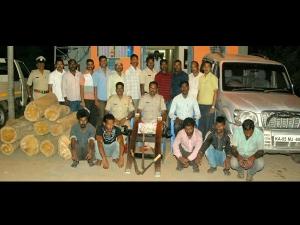 ಮೈಸೂರು: ಸಿನಿಮೀಯ ರೀತಿಯಲ್ಲಿ ಹೆದ್ದಾರಿ ದರೋಡೆಕೋರರ ಬಂಧನ