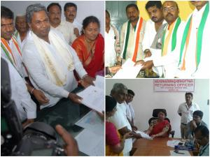 ಸಿಎಂ, ಯತೀಂದ್ರ ಸೇರಿ ಮೈಸೂರು ಜಿಲ್ಲೆಯಲ್ಲಿ 21 ನಾಮಪತ್ರ ಸಲ್ಲಿಕೆ
