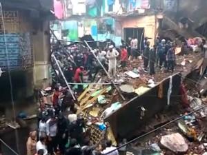 Building Collapse Mankhurd Mumbai Kills 3 Injures Many