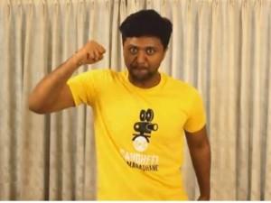 Kannada Rajyotsava With Sandalwood Actors Mimicry Jayanth Bellur