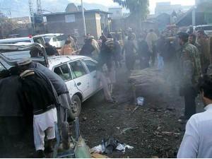Bomb Blast In Pakistan Market Kills Many People