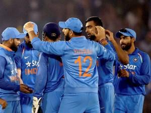 350 Plus Total Scores Odis Team India Tops The List