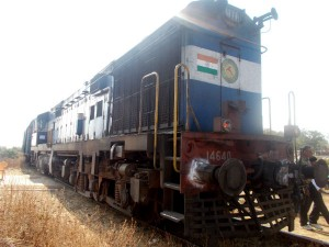 4 Bogies Of Goods Train Derail At Mantur Hubbali